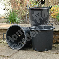 Heavy Duty 30L Pots with Handles - 3 pack